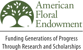 American Floral Endowment Scholarships in Floriculture/Horticulture Logo