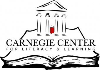 The Carnegie Center for Literacy and Learning Logo