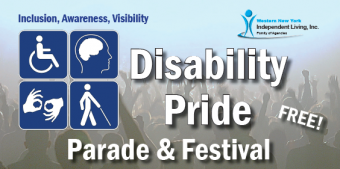 Disability Pride Festival and Parade Logo