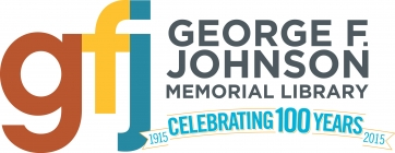 George F. Johnson Memorial Library Logo