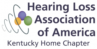 Hearing Loss Association of America Kentucky Home Chapter Logo