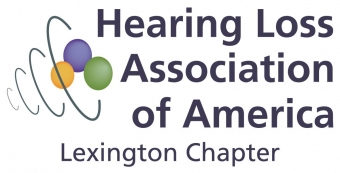 Hearing Loss Association of America Lexington Chapter Logo