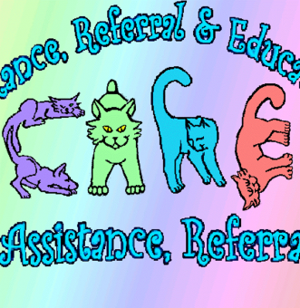 C.A.R.E. aka: Cat/Canine Assistance, Referral & Education Logo