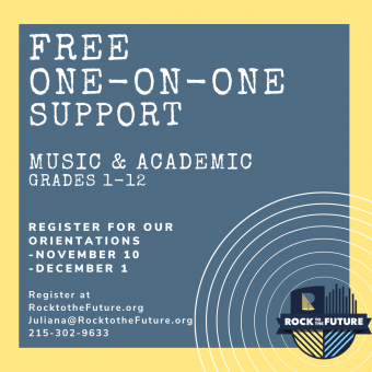 One-on-One Music and/or Academic Help Logo