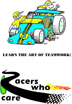 RACERS WHO CARE, INC. Logo