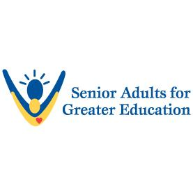 Senior Adults for Greater Education, S.A.G.E. Logo