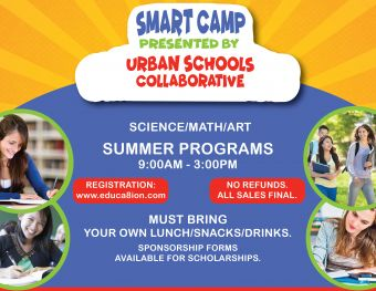 SMART CAMPS presented by URBAN SCHOOLS COLLABORATIVE LLC Logo