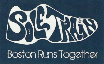 Sole Train: Boston Runs Together  Logo