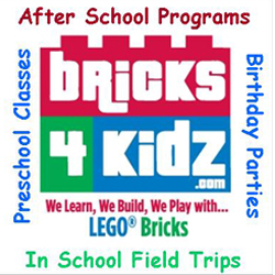 Bricks 4 Kidz--Chesterfield/Midlothian/Powhatan/Richmond Logo