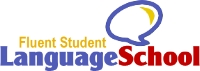 Fluent Student Language School Logo