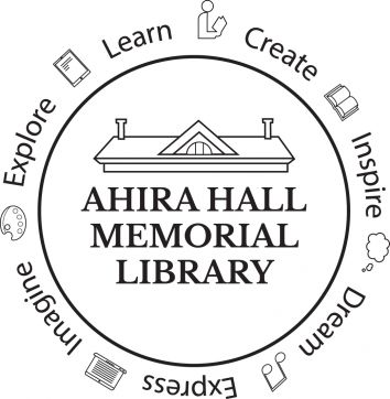 Ahira Hall Memorial Library Logo