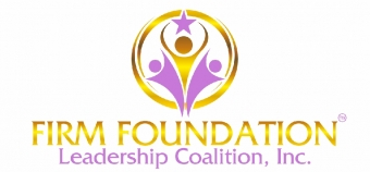 Firm Foundation Leadership Coalition, Inc. (FLCI) La Organización Feliz™ Logo