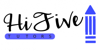 Hi Five Tutoring Logo