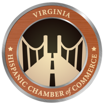 Virginia Hispanic Chamber of Commerce's  Passport to Education Program  Logo
